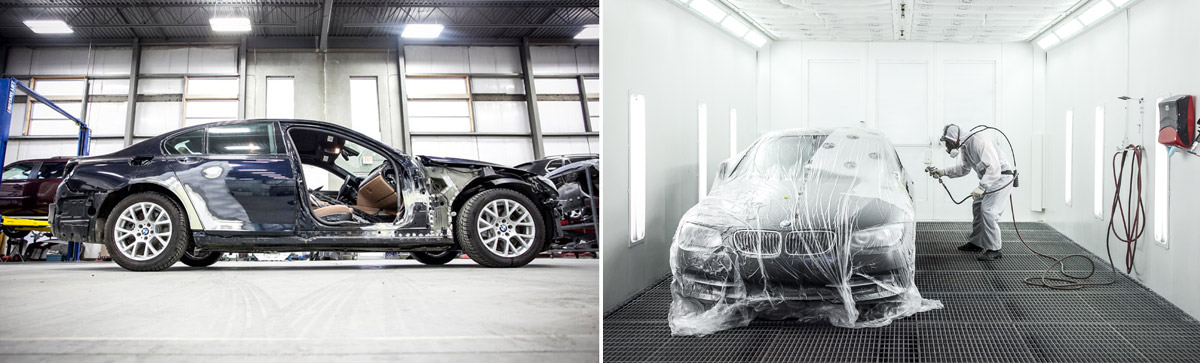 BMW Auto Body Shop near Greensboro