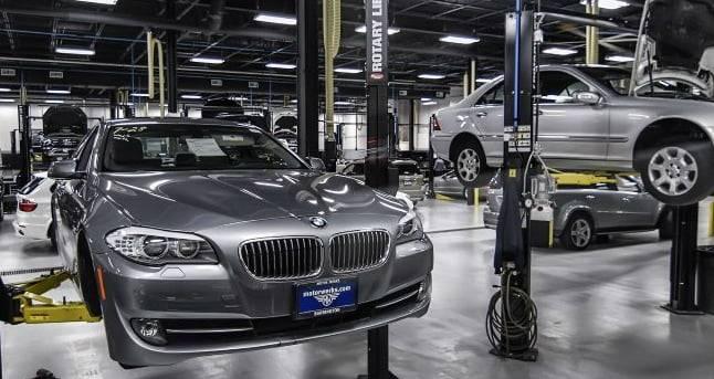 Schedule BMW service